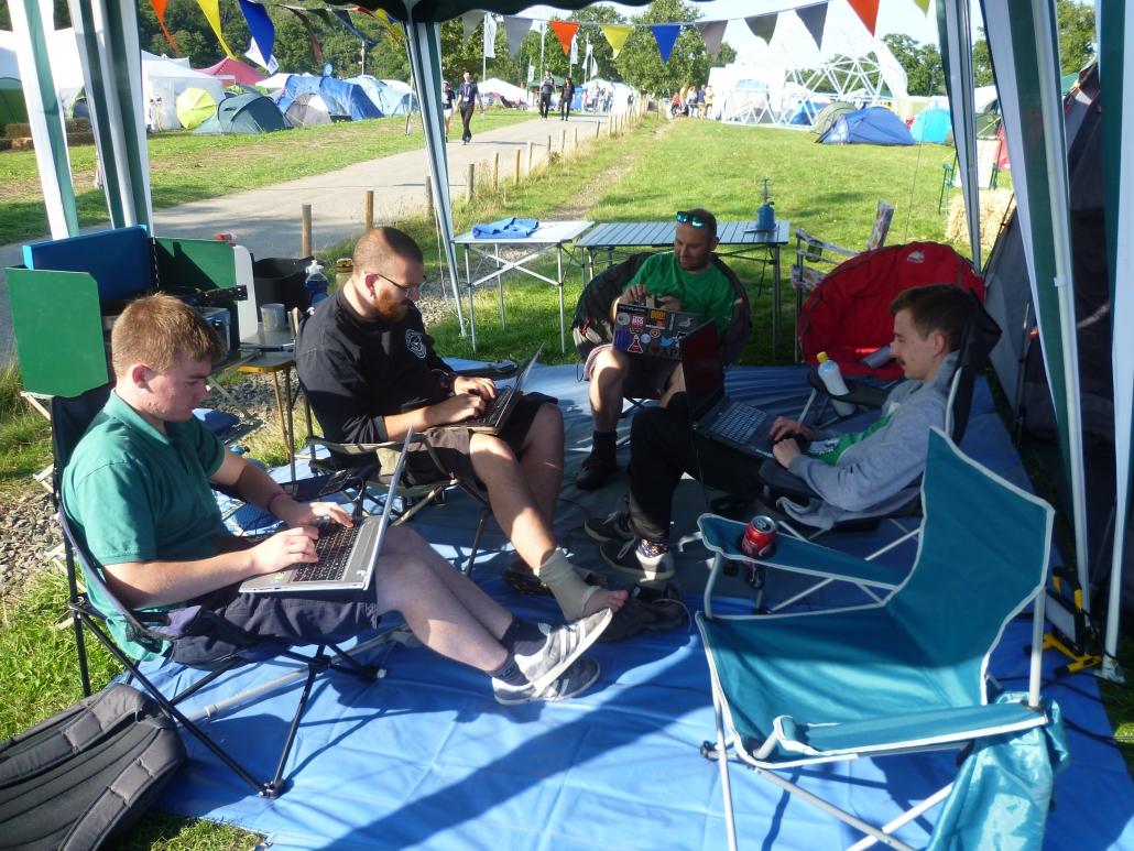 Badge hacking at camp Dogsbody
