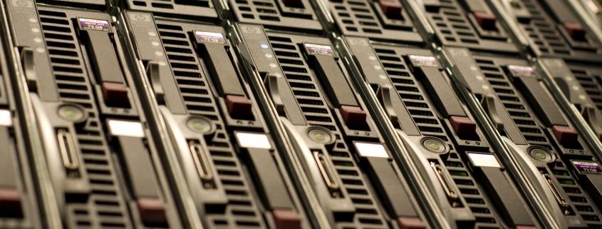 Server harddrive slots