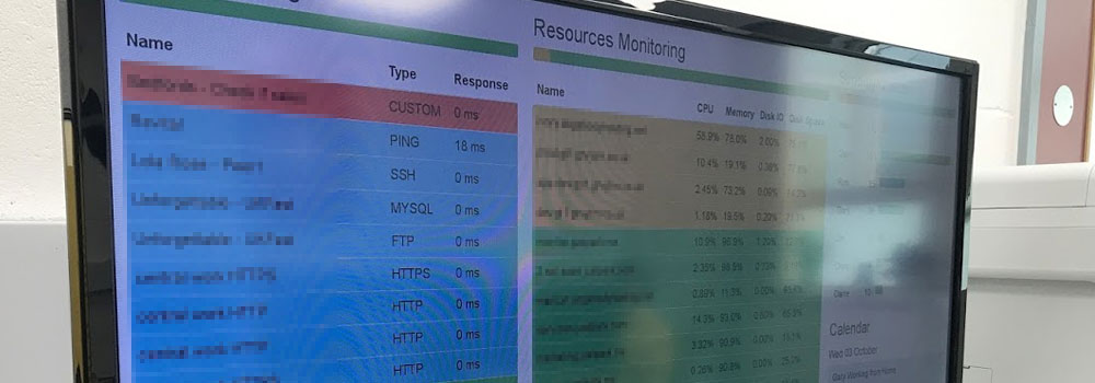Server management and monitoring